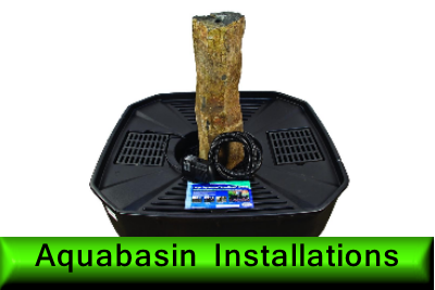 Aquabasin installations